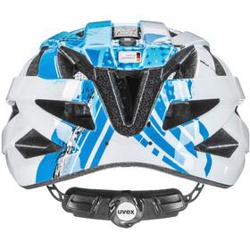 UVEX Air Wing Helm Kinder blue-white